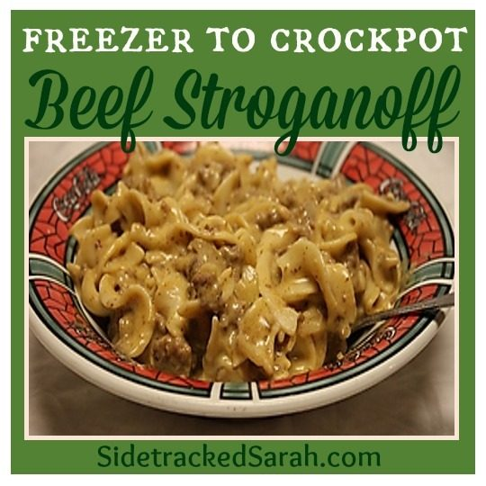 Slow Cooker Ground Beef Stroganoff Recipe: 6 Freezer To Slow Cooker Meals You Should Try If You Haven