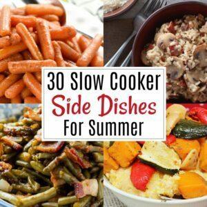 Crock Pot Side Dishes for Summer