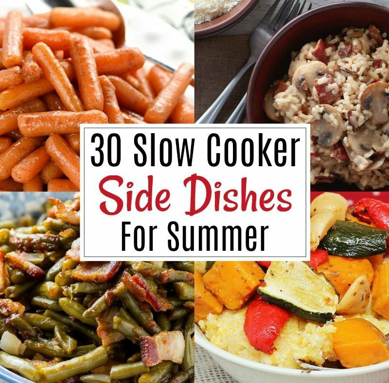 Crock Pot Side Dishes for Summer