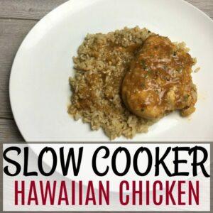 Slow Cooker Hawaiian Chicken Recipe