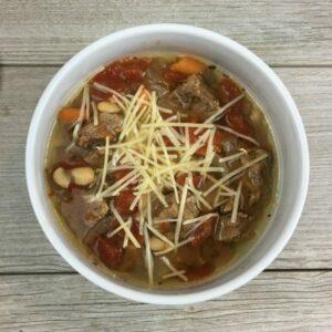 Slow Cooker Italian Beef Soup Recipe