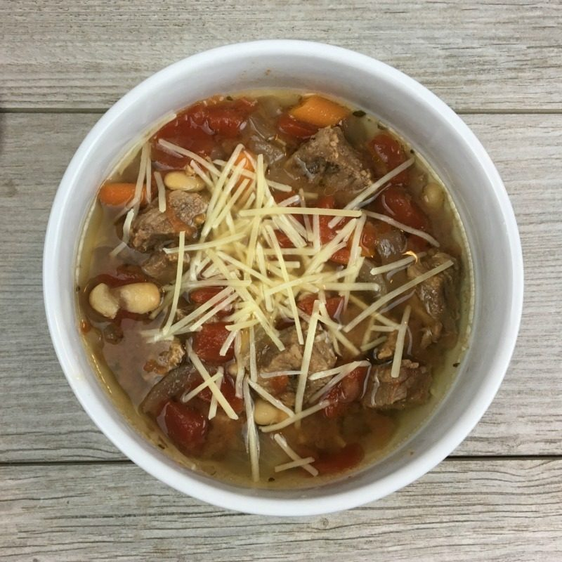 Slow Cooker Italian Beef Soup Recipe