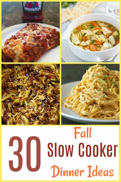 30 fall slow cooker dinner ideas