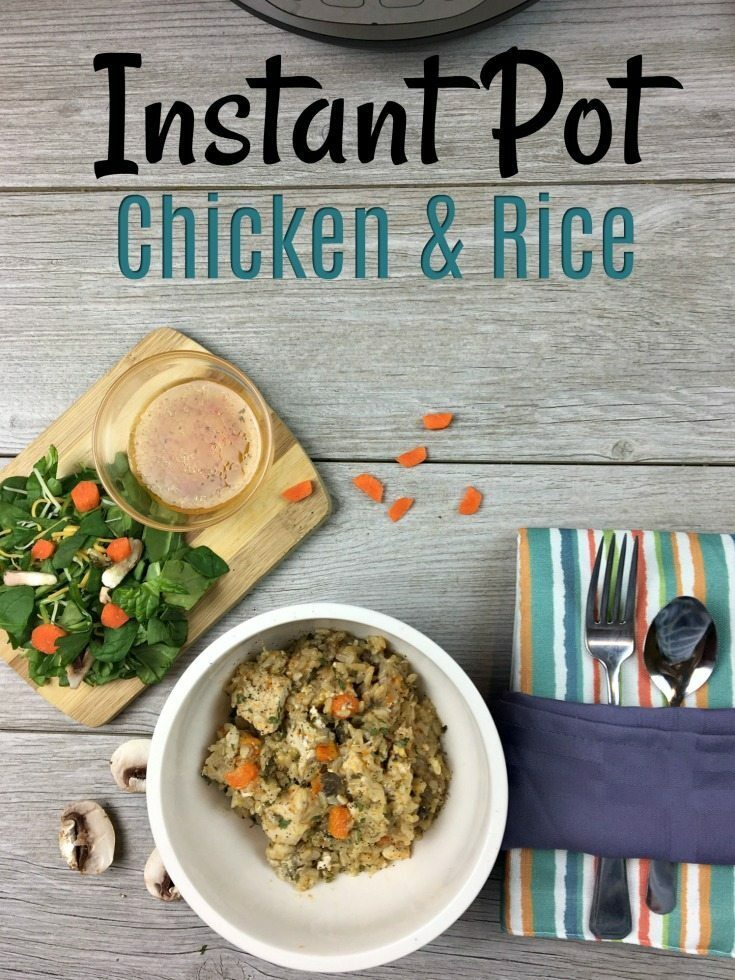 Instant Pot Chicken & Rice