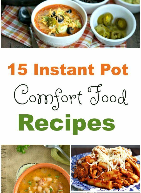 Instant Pot Pressure Cooker Comfort Foods