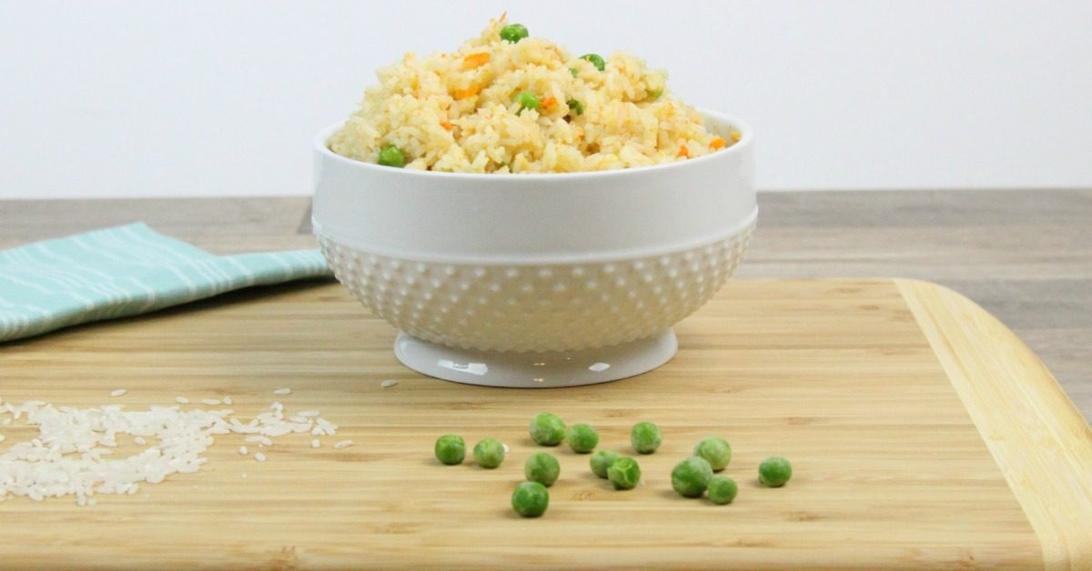 Instant Pot Fried Rice in Bowl