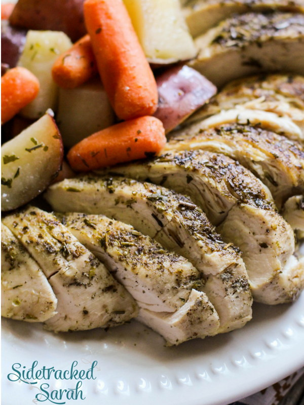 Slow Cooker Chicken Potatoes and Carrots