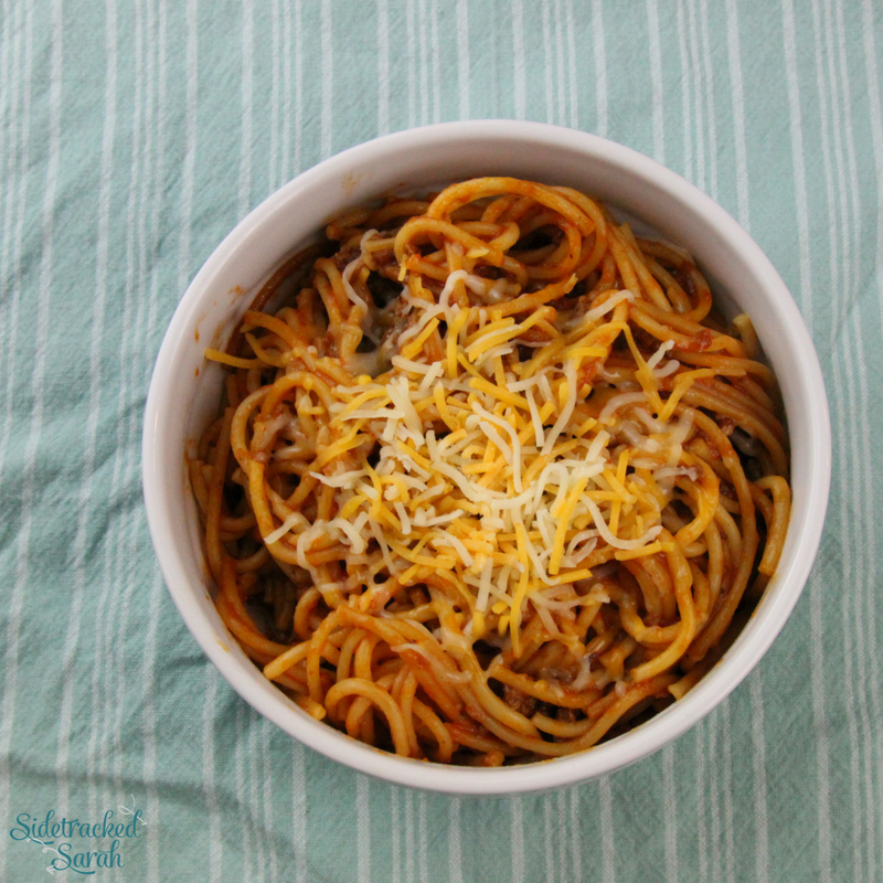 Instant Pot One Pot Spaghetti