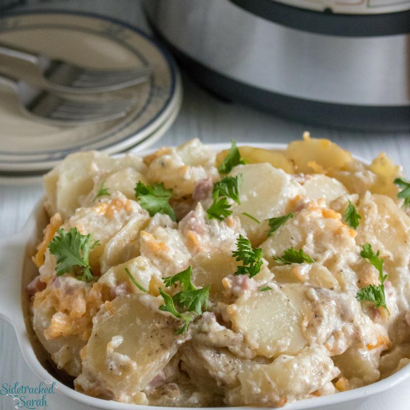 Instant Pot Scalloped Potatoes