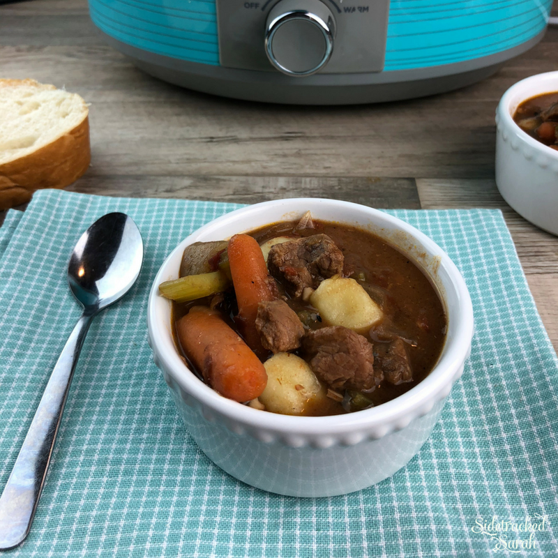 Slow Cooker Beef Stew with Gnocchi