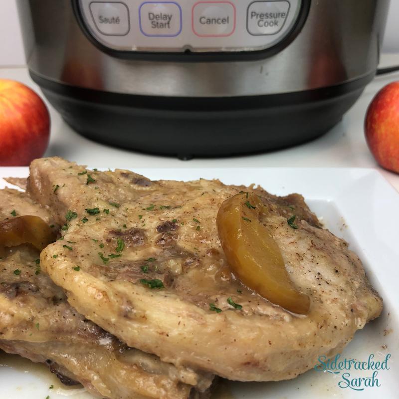 Instant Pot Apple Pork Chops