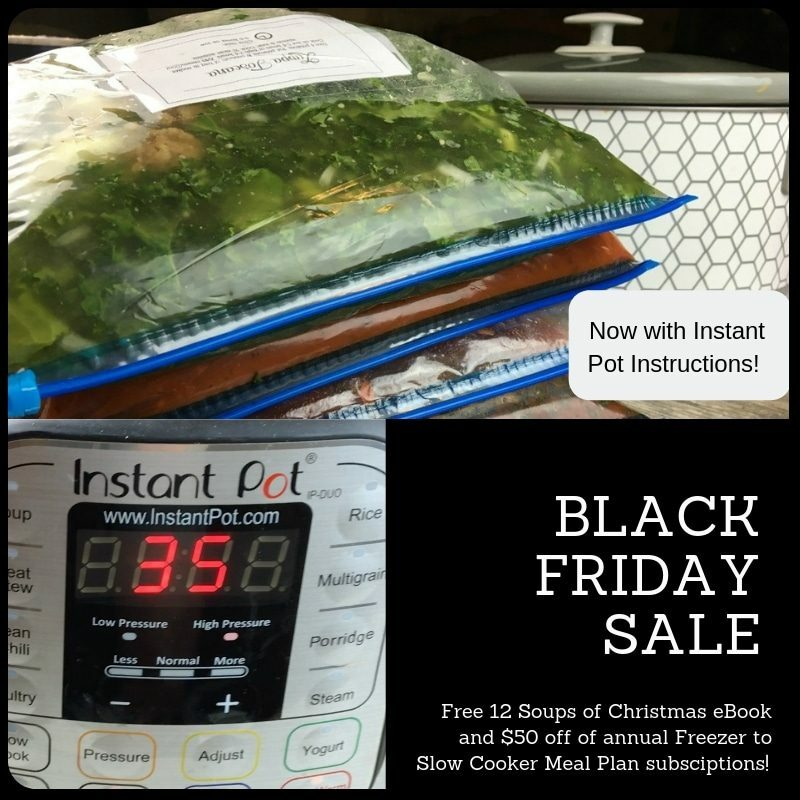The Big Black Friday SALE on Freezer to Slow Cooker Subscriptions