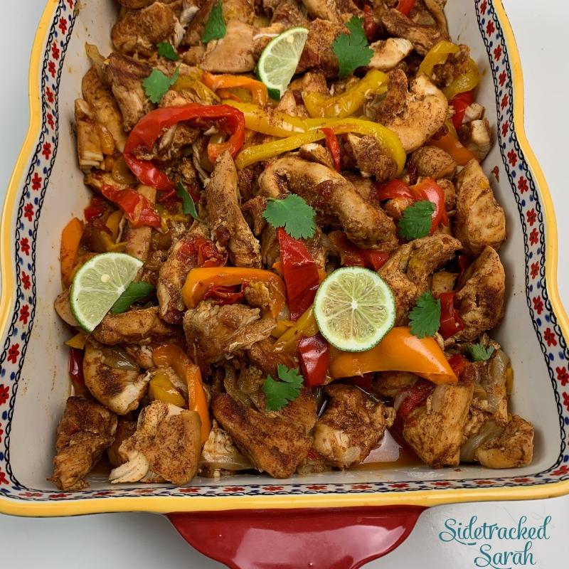 Easy Instant Pot Chicken Fajitas Recipe