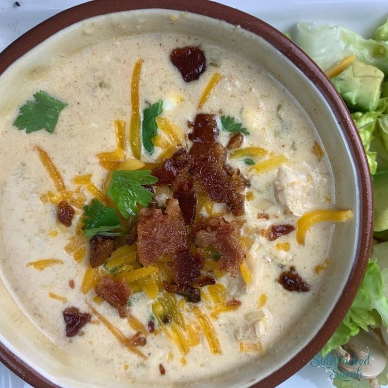 Slow Cooker Low Carb Jalapeño Popper Soup