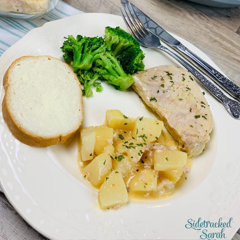 Slow Cooker Pork Chops and Potatoes