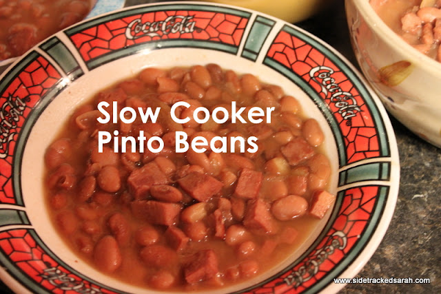 Best Pinto Beans Recipe, Made in Your Slow Cooker | Sidetracked Sarah