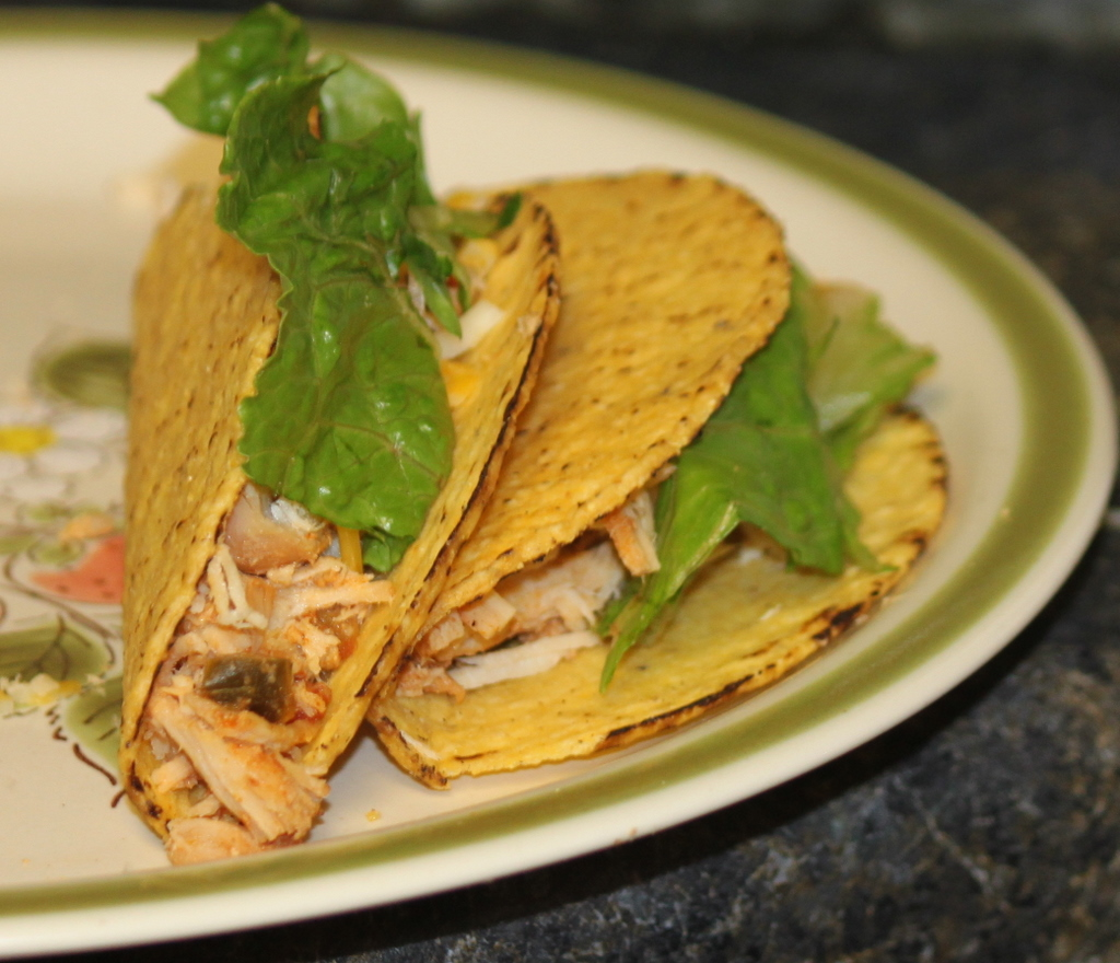 Chicken Tacos (Easy Crockpot Meal) | Sidetracked Sarah